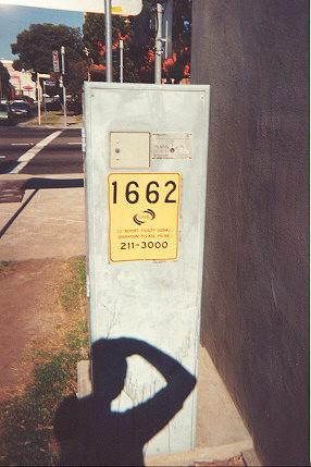 "Each traffic-light controller has an access box for Telecom (locked with a locker-type key).  Traffic lights are remotely programmed via the phone lines.</BR></BR><span class=""date-display-single"" property=""dc:date"" datatype=""xsd:dateTime"" content=""1995-11-02T00:00:00+00:00"">Nov 02, 1995</span>"